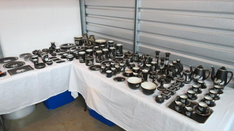 VERY LARGE PRIVATE LIFETIME COLLECTION OF EARTHENWARE DATING TO MID 1800'S