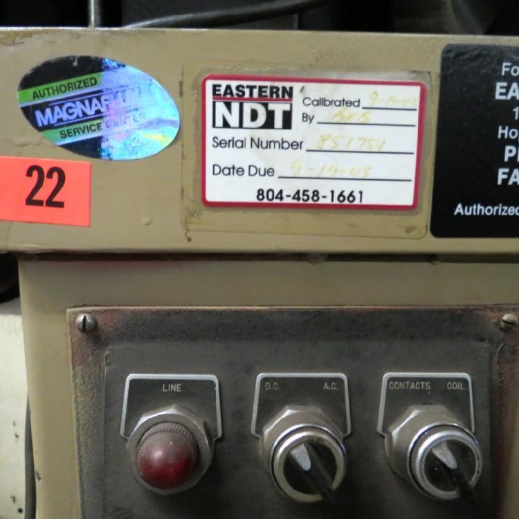 MAGNAFLUX TESTING MACHINE