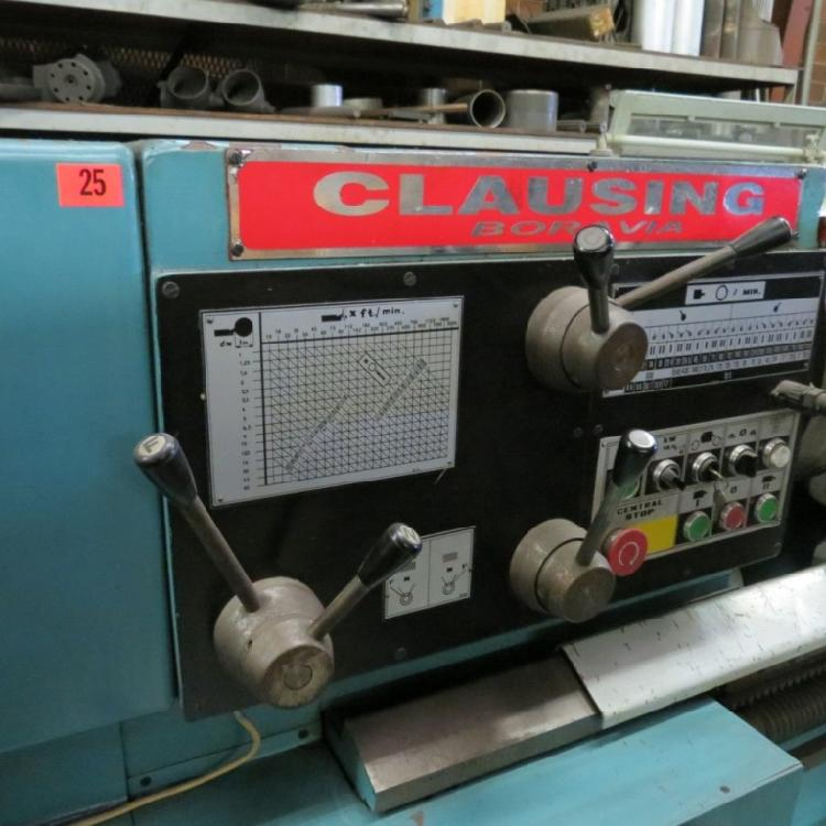 CLAUSING LONG BED LATHE