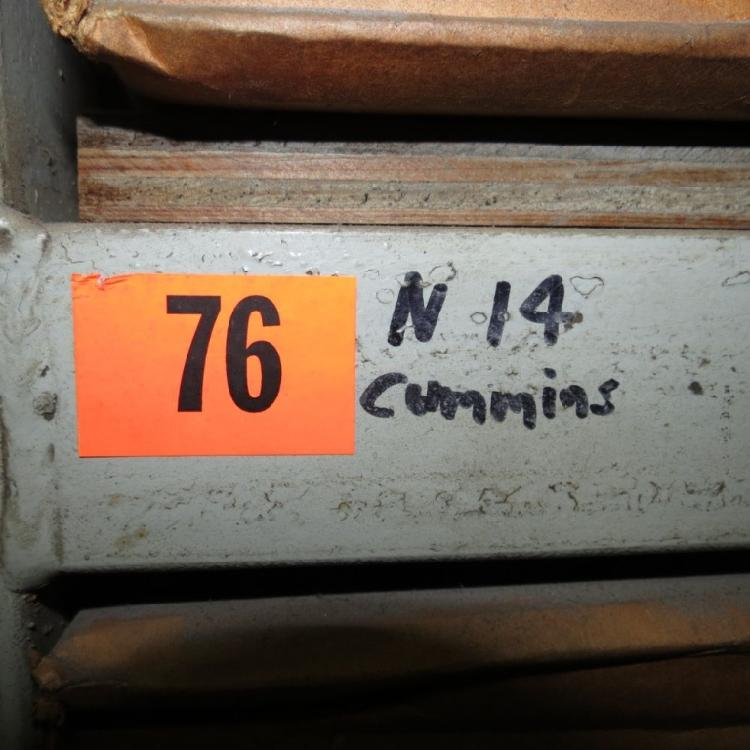 STEEL RACK WITH CONTENTS