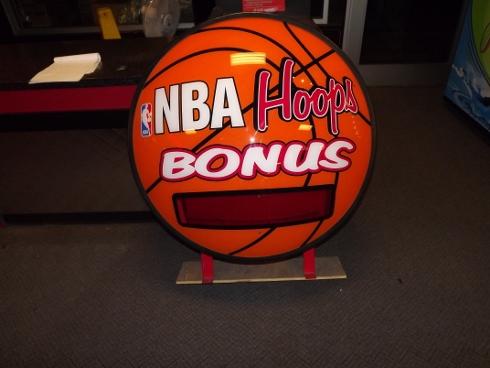 NBA BONUS HOOPS SIGN