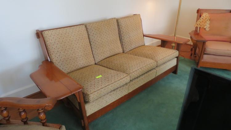 4 piece hard rock maple living room suite