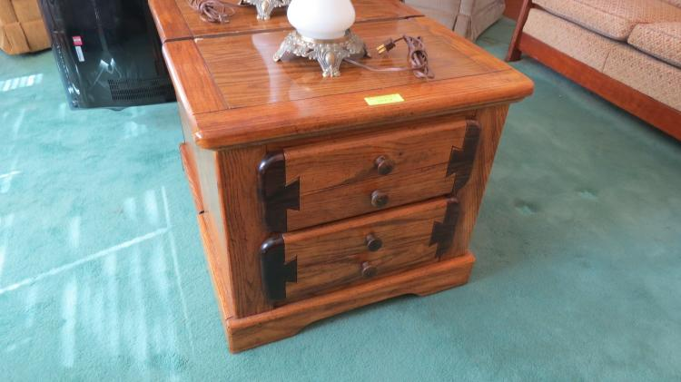2 - two drawer night stands