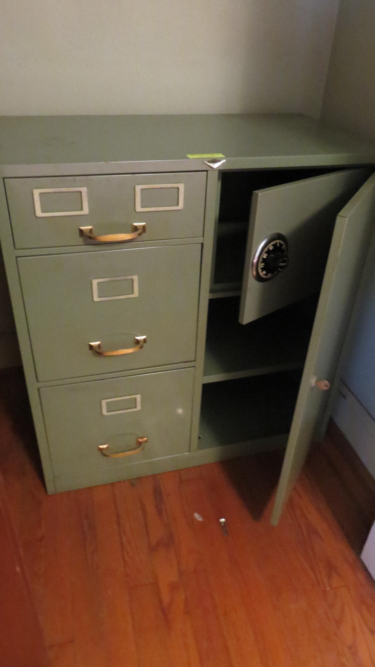 Metal File / Safe Cabinet No Combination