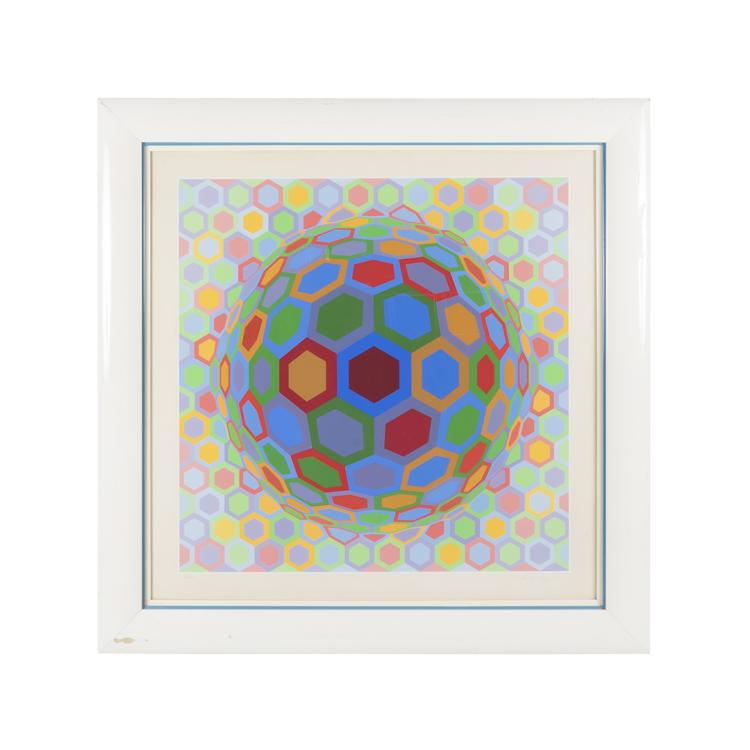 Victor Vasarely print
