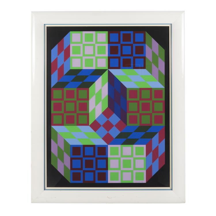 Victor Vasarely print