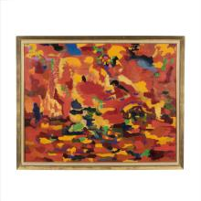 Hansen abstract painting