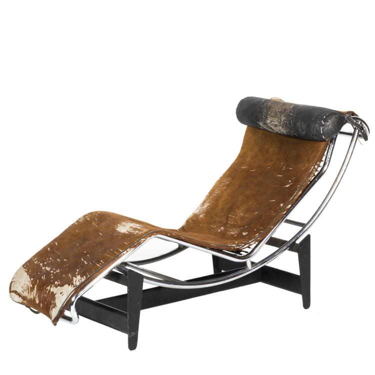 Le Corbusier L C4 chaise lounge