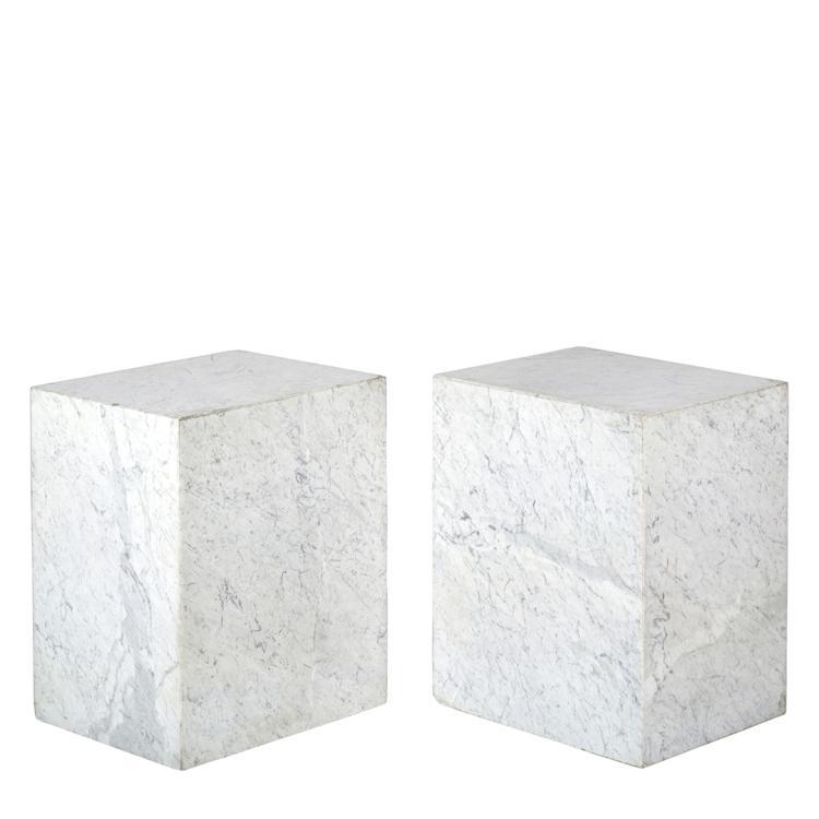 Marble pedestals (2)