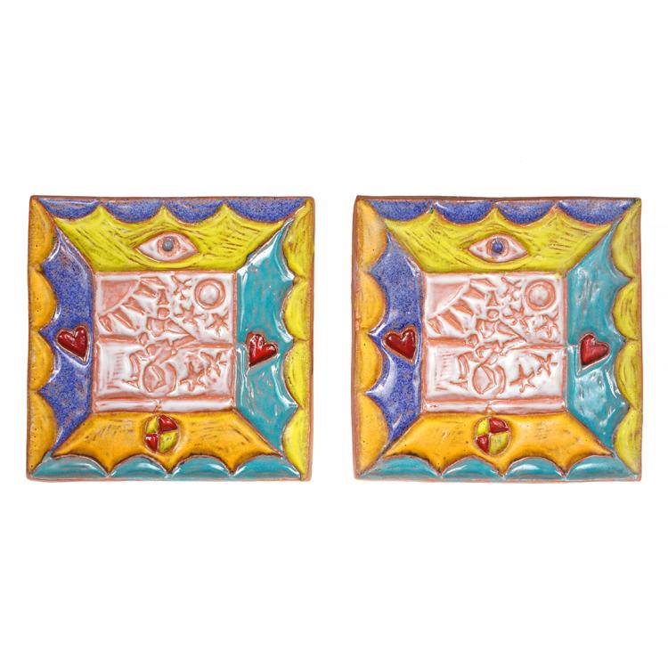 Peter Shire ceramic tiles (2)