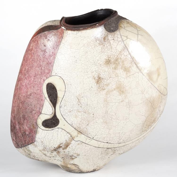 Michael Gustavsen abstract vase