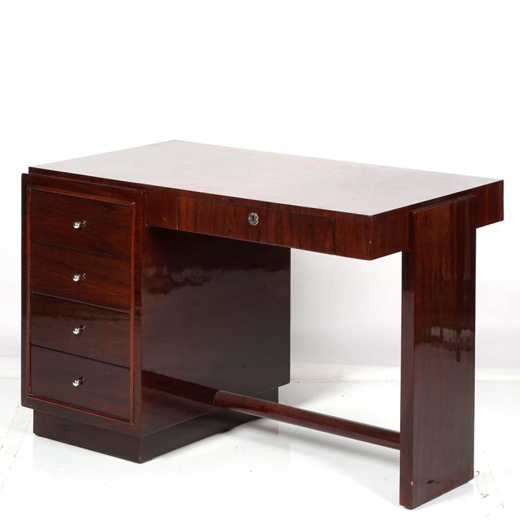 Art Deco rosewood desk