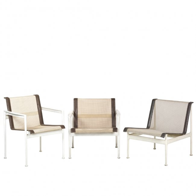 Richard Schultz patio chairs (3)