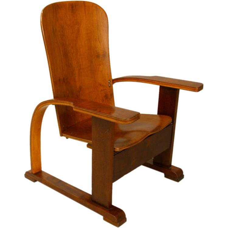 Moveis Cimo mahogany lounge chair