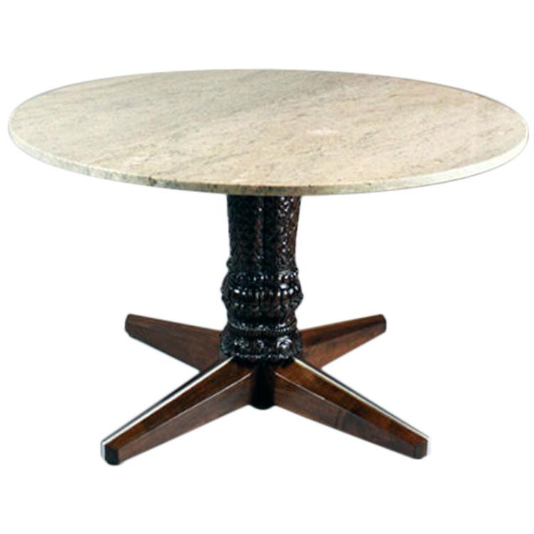 Monteverdi-Young walnut game table
