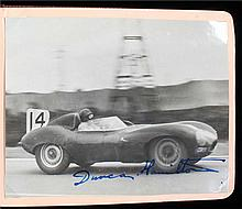 Motorsport interest, a fine collection of signed photographs and slips from