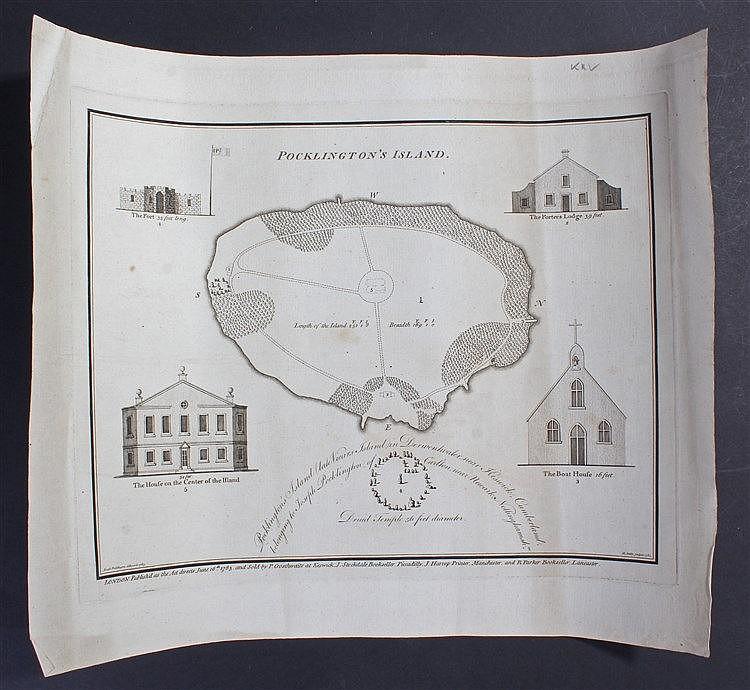 Joseph Pocklington, 1783, Pocklingtons Island, 27cm x 21cm