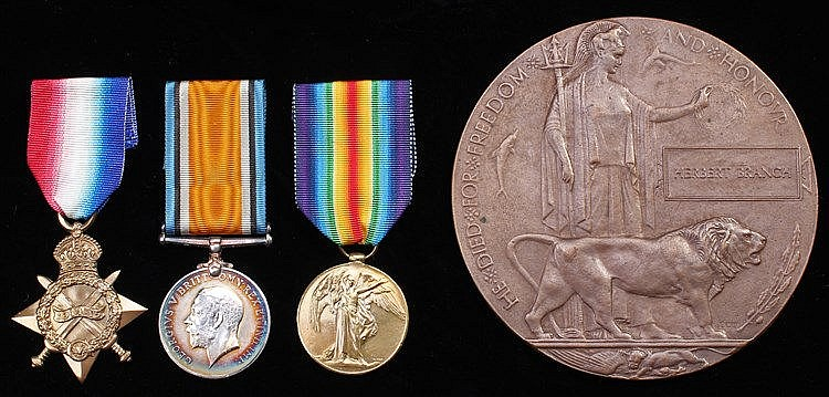 Suffolk Regiment First World War Casualty group, to include 1914-15 Star, B