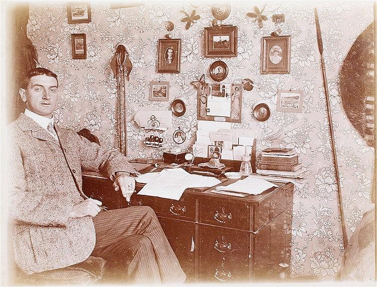 An intriguing photograph album of William Edgar Percy Rose, the album taken