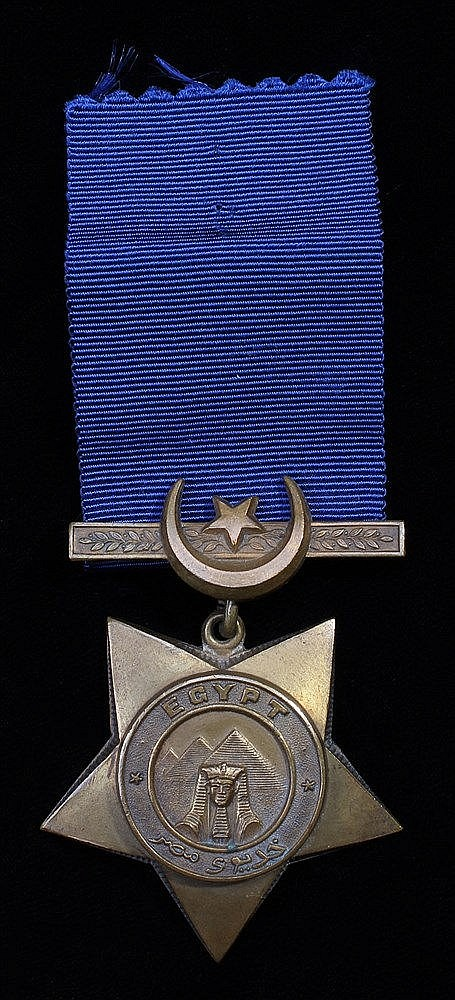 Khedive`s Star medal, undated