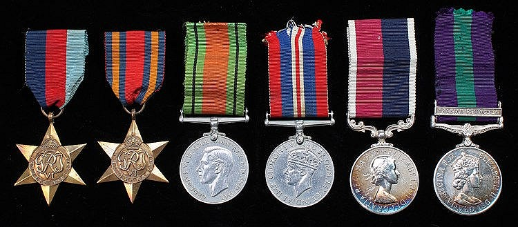 RAF Second World War group of six, consisting of 1939-1945 Star, Burma Star