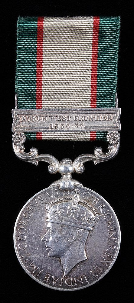 Indian Police interest, India General Service medal, one clasp North West F
