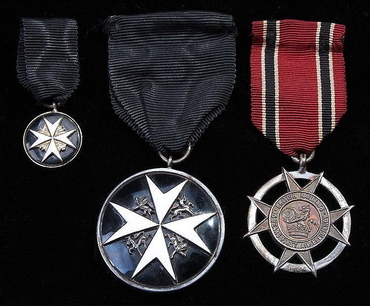 The Order of St John, 4th type 1948-1973, together with the miniature, and