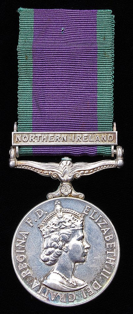 General Service medal 1964-2007, EII, 1 clasp Northern Ireland, (24178981 D