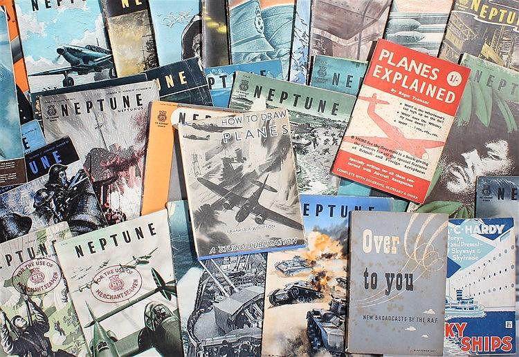 "Thirty one copies of World War II propaganda magazine Neptune "" for Merchan"