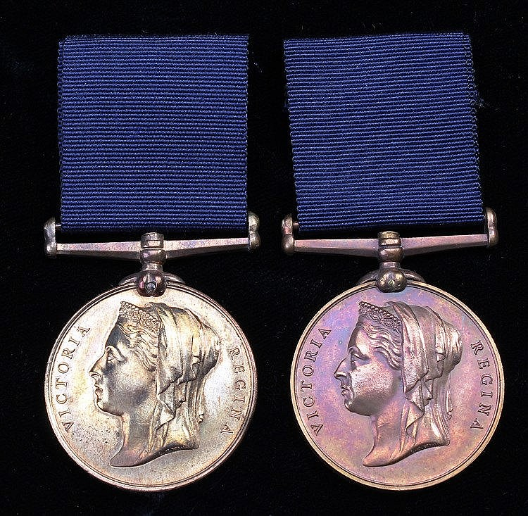 Two Metropolitan Police Jubilee medals, Queen Victoria, both unnamed, (2)