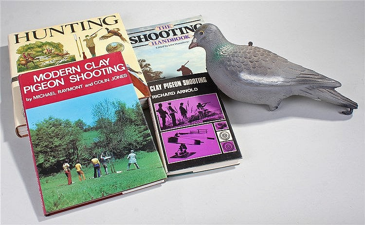 Reference books on shooting, to include Clay Pigeon Shooting, The Shooting