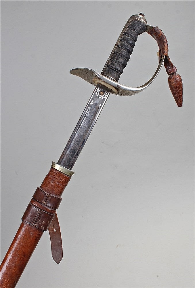 Henry Wilkinson naval officers Sword, with scabbard, shagreen handle with p