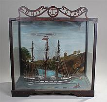 New Zealand interest, a Victorian model of the ship 'Otaki', the  three-mas