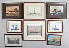 Maritime pictures, to include a photograph of P.&O.Y.; Mantua, a print of HM