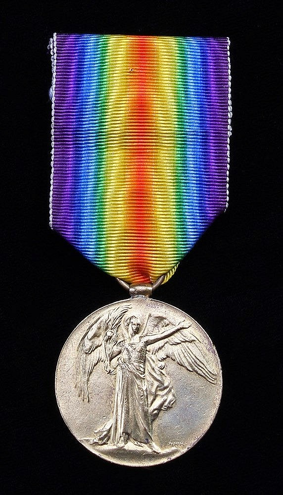 First World War Victory Medal, Fife & Forefar Yeomanry, (2026 PTE J.M. HEND