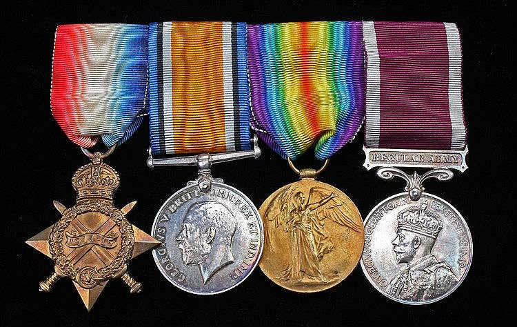 First World War trio, 1914-15 Star, British War Medal, Victory medal (57495