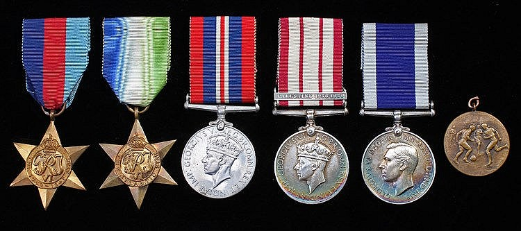 Second World War Royal Marines group of five, consisting of War medal, 1939