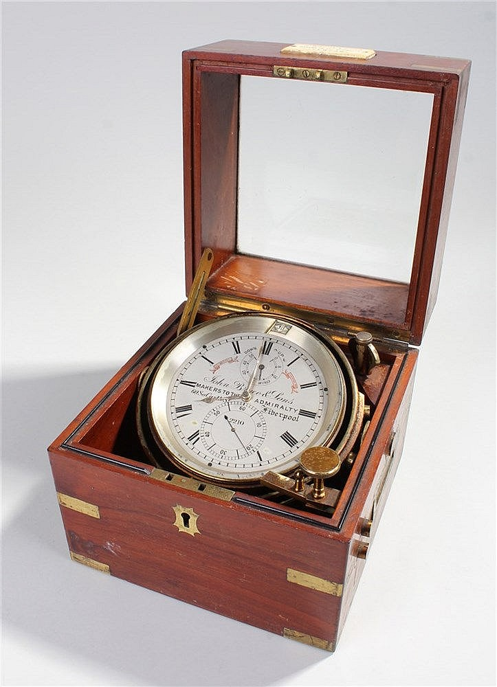 John Bruce & Sons marine chronometer, the 4