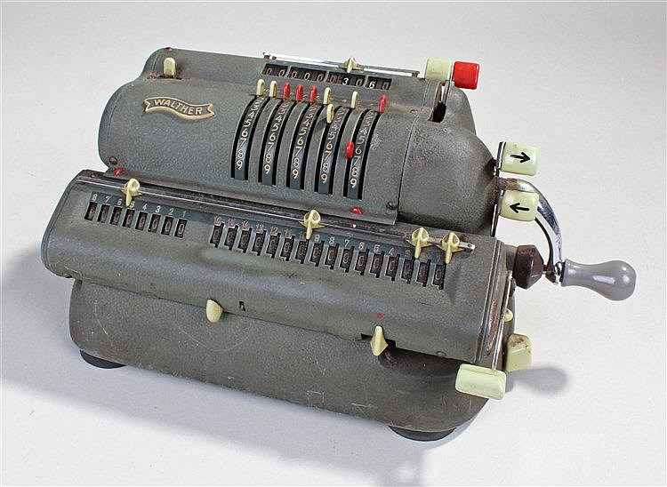 1930's Walther adding machine, No 135716