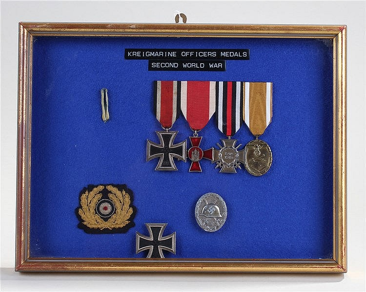 German medals, to include First and Second World Wars, to include an Iron C
