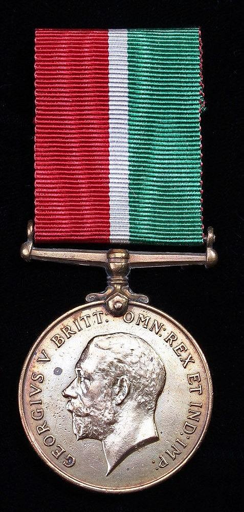 Mercantile Marine War medal, 1914-1918, T.H.B. TOTTLS)
