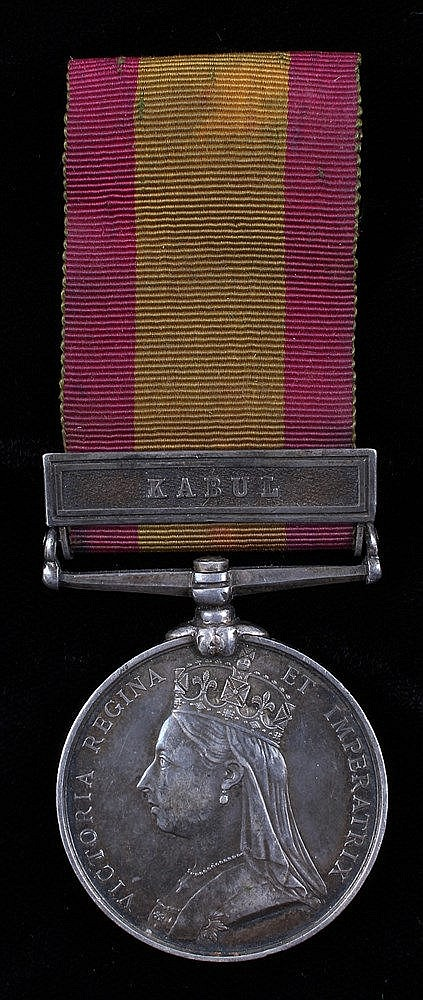 Afghanistan 1878-80, 1 clasp, Kabul (540 PTE E. ROE. 2/9th Foot.)