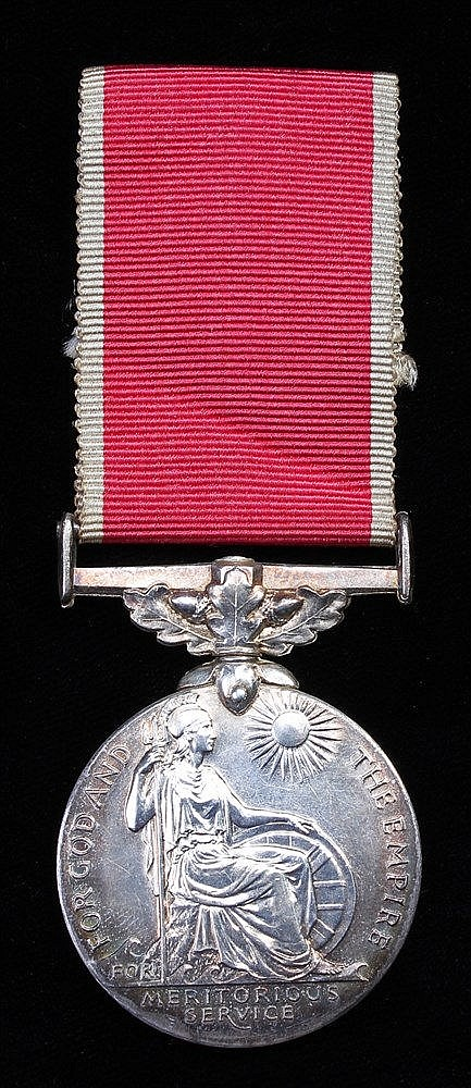 British Empire medal, George VI GRI cipher, Civil, (John Lightfoot)