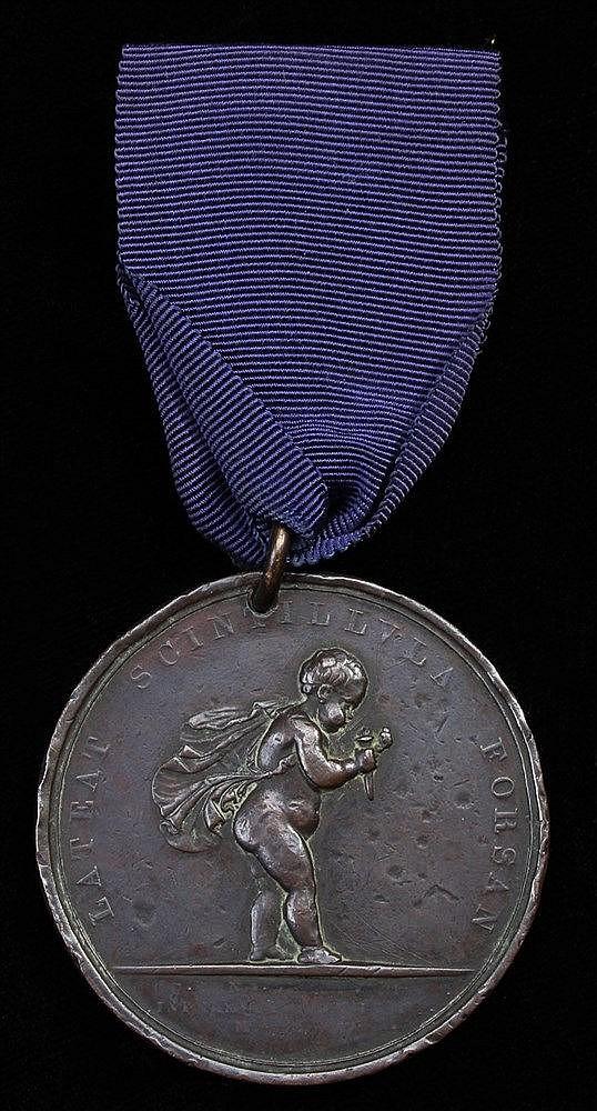 Royal Humane Society medal, (Frederick King VITOB SERV D.D. SOC. REG. HVM.