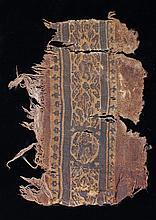 Coptic fragment section, Egypt 6th Century A.D. 17cm long - Stock Ref:53-34