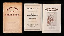 Pathescope Film Catalogue 1929, Pathescope Monthly 1929,Fles & co Sound and