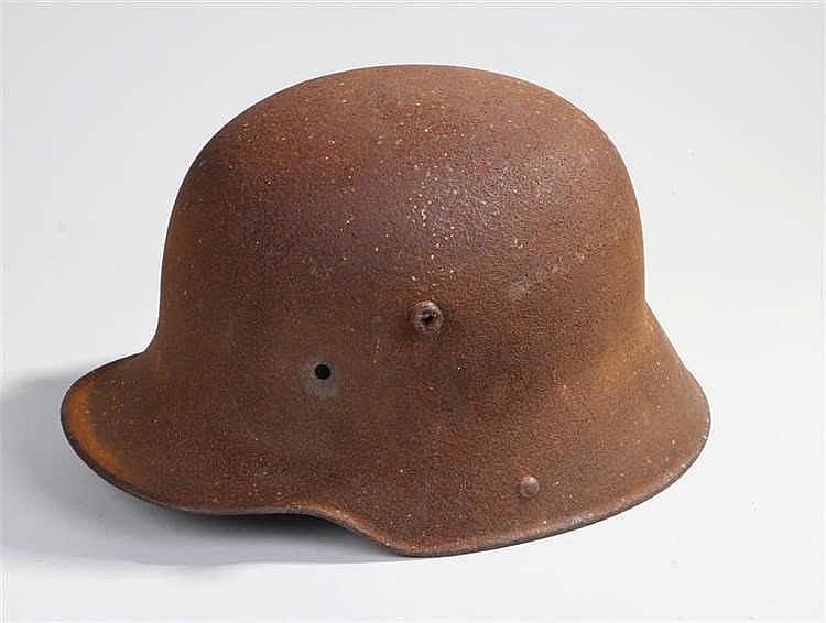 German World War One 1915 pattern helmet shell - Stock Ref:525-132