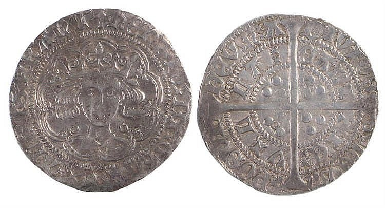 Edward III Groat, 1327-1377, Fourth Coinage - Stock Ref:2315-85