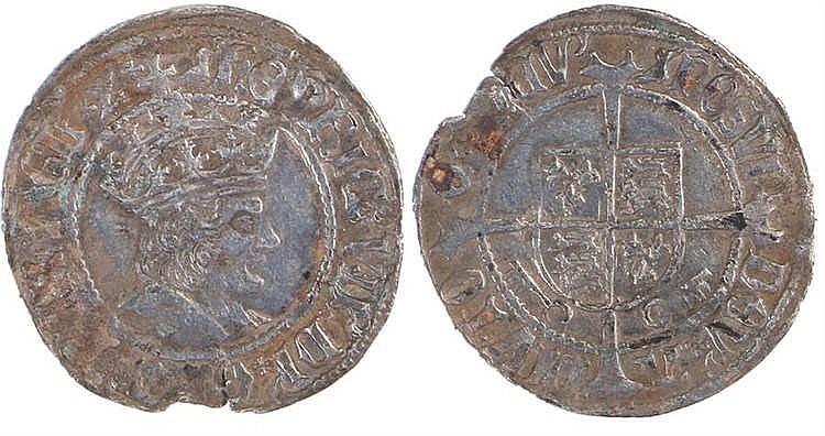 Henry VII Half Groat (1502-1532) York mint - Stock Ref:4603-1