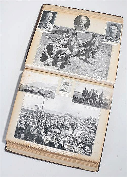 Transvaal war album compiled by Olive Campbell Murray, March 24th 1900 cont